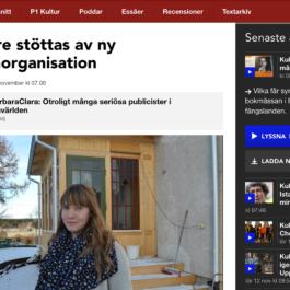 Sveriges Radio P1 - Bloggare stöttas av ny branschorganisation